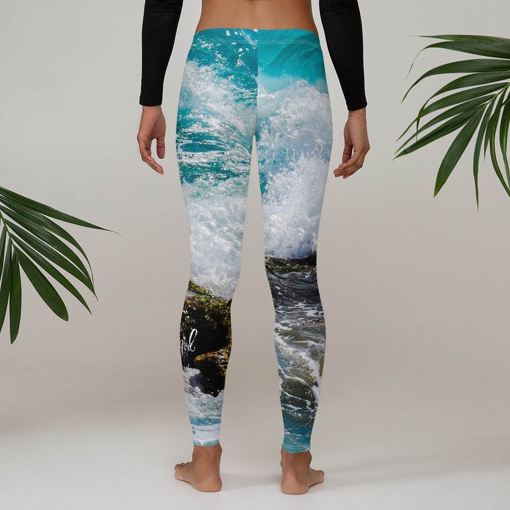 Sounds of the Sea Leggings