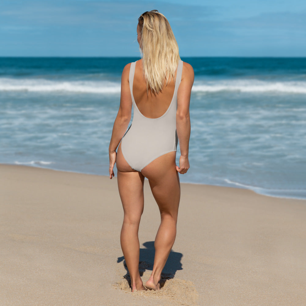 Total Taupe One-Piece - Saltgirl Clothing - Women's Saltwater Fishing Apparel and Swimwear