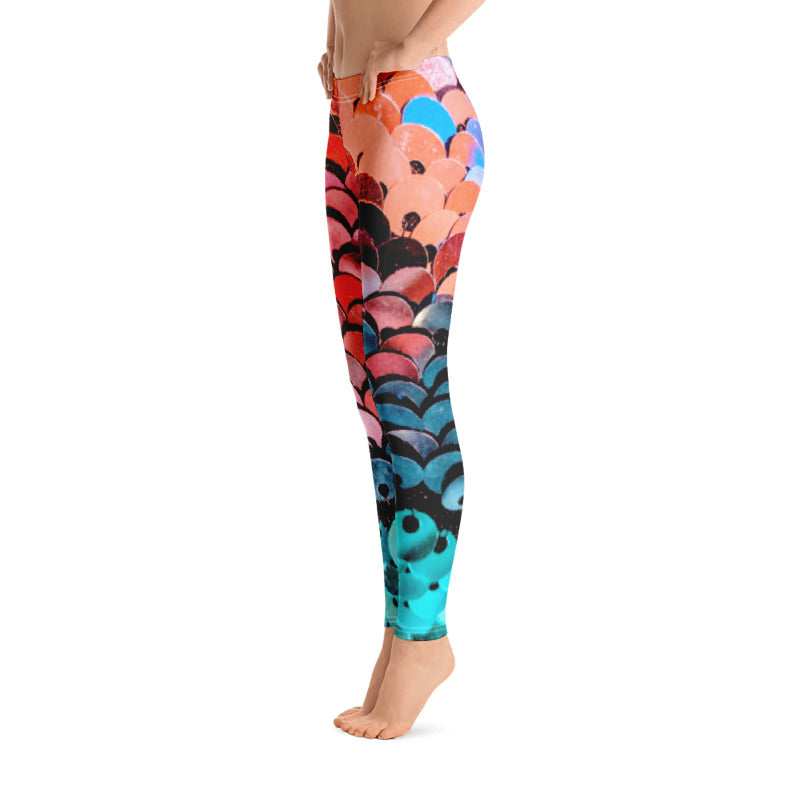 Ocean Ombre Leggings - Saltgirl Clothing - Women's Saltwater Fishing Apparel and Swimwear