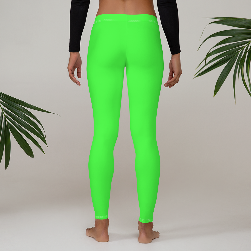 Neon Green Leggings - Saltgirl Clothing - Women's Saltwater Fishing Apparel and Swimwear