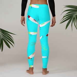 Lora Lure Leggings - Saltgirl Clothing - Women's Saltwater Fishing Apparel and Swimwear