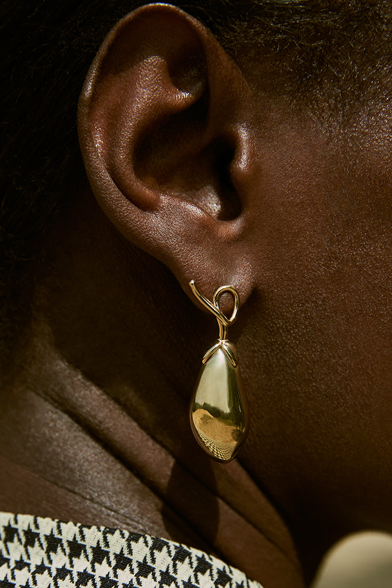 ADELHEID EARRINGS, GOLD