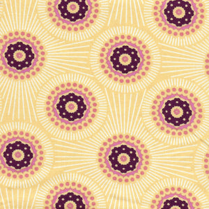 Precut half-yard: Bubble Burst in Sweet Cream by Anna Maria Horner
