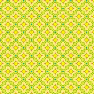 Tiled Primrose in Celery by Heather Bailey