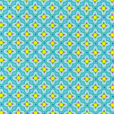 Tiled Primrose in Ice by Heather Bailey