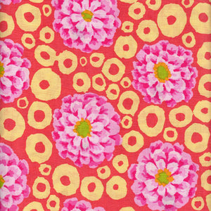 Precut half-yard: Bubble Flower in Summer by Kaffe Fassett