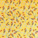 Emi and the Bird Leaves in Yellow by Dashwood Studio