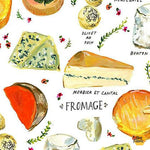 Fromage in White by August Wren for Dear Stella