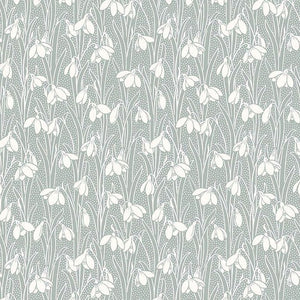 Hesketh in Grey by Liberty Fabric
