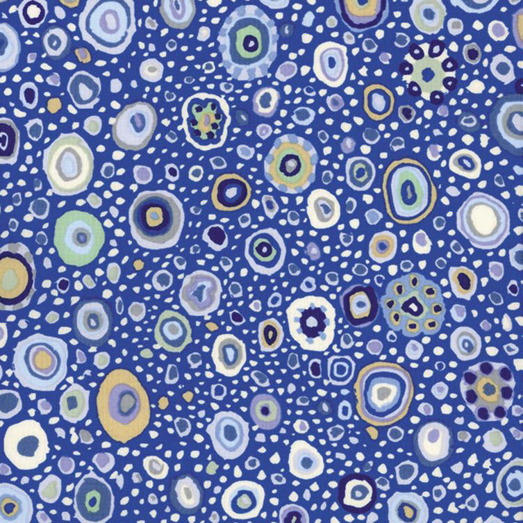 Roman Glass in Blue by Kaffe Fassett