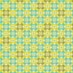 Square Petals in Citron by Joel Dewberry