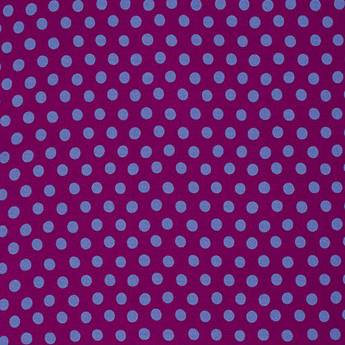 Spot in Plum by Kaffe Fassett