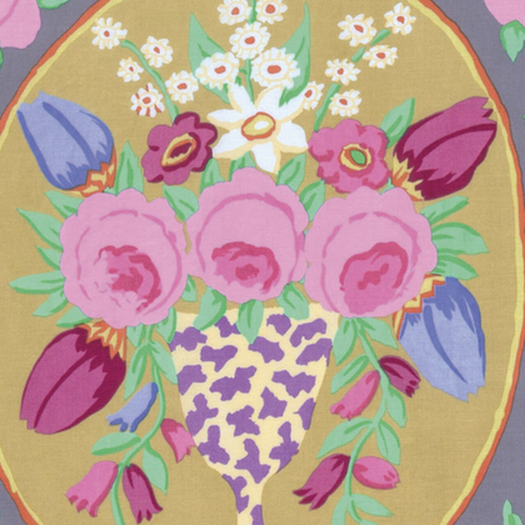 Cameo in Grey by Kaffe Fassett