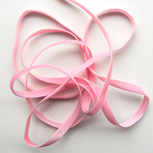 Pink Velvet Ribbon from France (9mm)