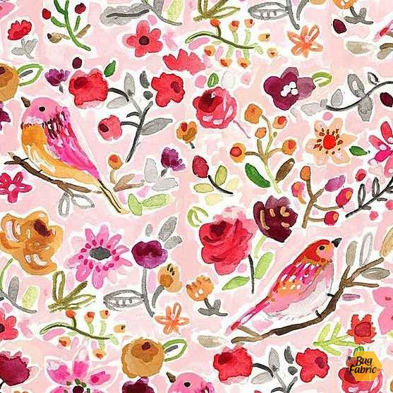 Parisian Birds by August Wren for Dear Stella