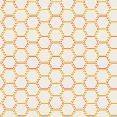 Honeycomb in Nectar by Art Gallery Fabrics