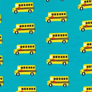 Bus Stop (Organic Cotton Interlock Knit) by Cloud 9 Fabrics