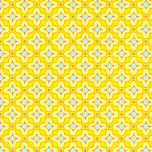 Tiled Primrose in Canary by Heather Bailey