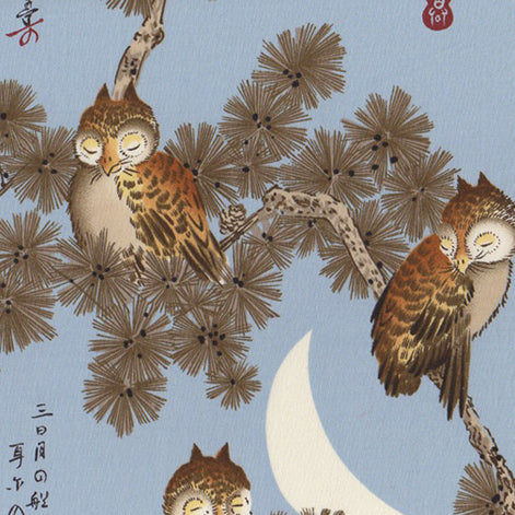 Moonlit Owls by Alexander Henry