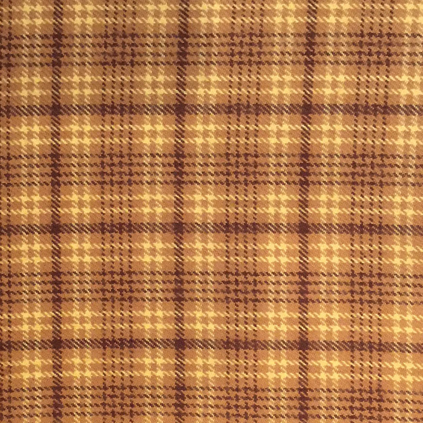 Primo Plaid FLANNEL in Cafe au Lait by Marcus Fabrics