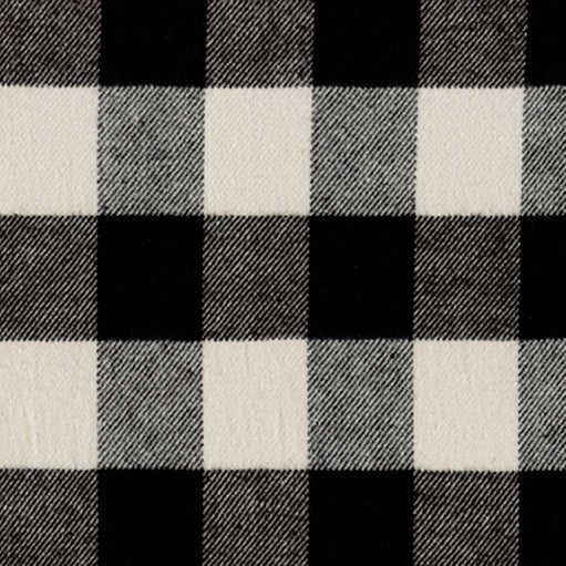 Primo Plaid FLANNEL in Black and White by Marcus Fabrics