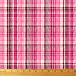 Wavy Plaid fabric by August Wren for Dear Stella from the Pardon My French Collection