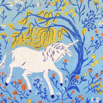 Heather Ross 20th Anniversary Collection - Blue Unicorns