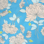 Chrysanthemum in Blue by Amy Butler