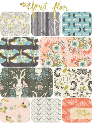 The Forest Floor Collection by Art Gallery Fabrics