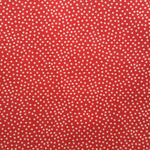 Garden Pindot in Red by Michael Miller