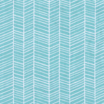 Precuts: Herringbone in Pond by Joel Dewberry