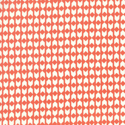 Arrows in Coral by Cotton and Steel