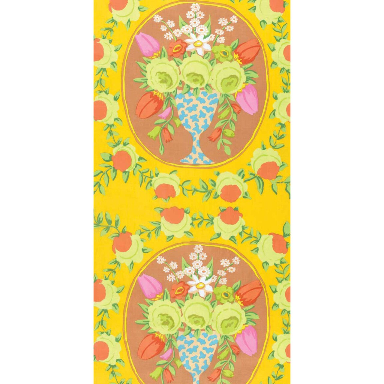 Cameo in Yellow by Kaffe Fassett