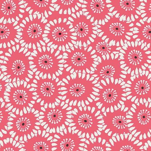 Hypnotic Paramour Red by Pat Bravo for Art Gallery Fabrics
