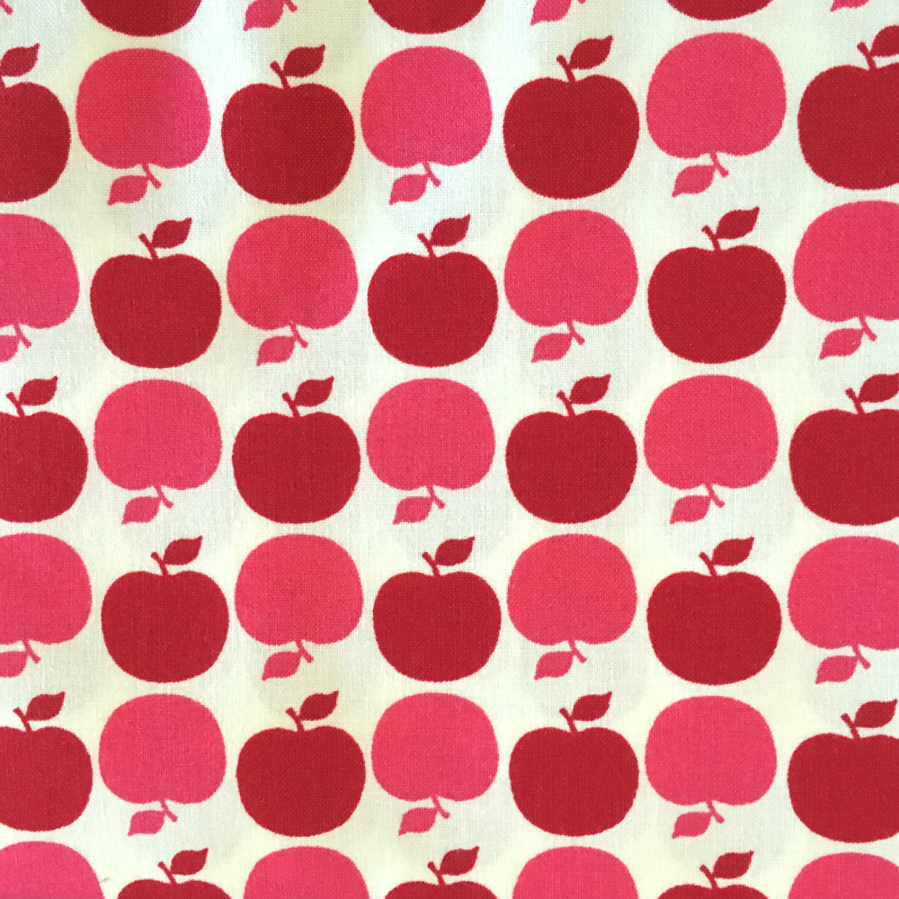 Precuts: Apple Dot in Red by Michael Miller