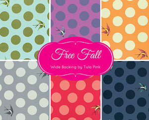 "Free Fall Cotton Sateen 108"" (Orchid) by Tula Pink"