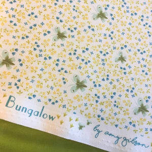 Butterfly in White by Amy Gibson for Windham Fabrics