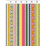Forever Magic Multicolor Stripes by Clothworks
