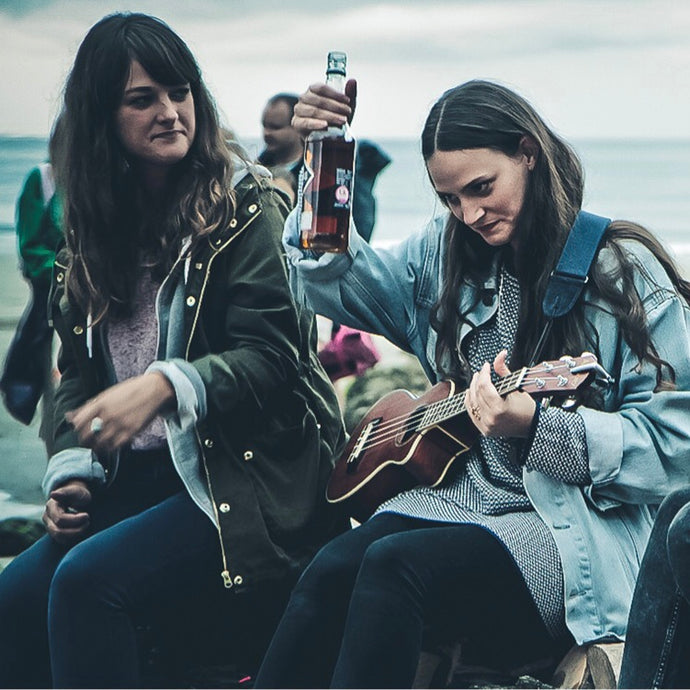 The Staves at The Hidden Hut, Cornwall