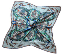 'Green Eyes' Silk Scarf