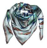 green eyes silk scarf rita white irish luxury fashion print designer