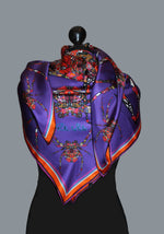purple-spider-silk scarves-irish-designer-ritawhite