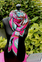 wine scarf ritawhite irish design