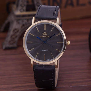 Business Leather Watch - Men's
