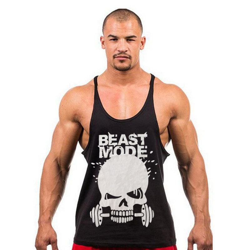 BEAST MODE Stringer Tank Top