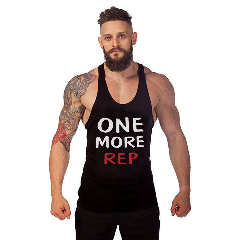 ONE MORE REP Stringer Tank Top