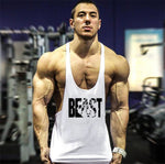 Bodybuilding Tank Tops Men Sleeveless shirt