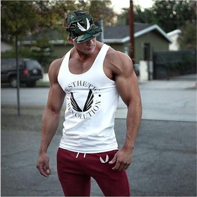 Powerhouse Musculation Men's Tank Top