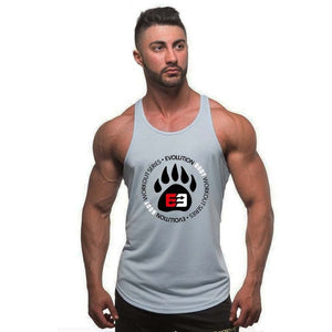 Fitness Bodybuilding Stringer Tank Top