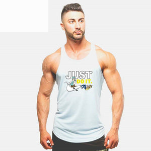 Just Do It Casual Fashion Sleeveless Tank Top